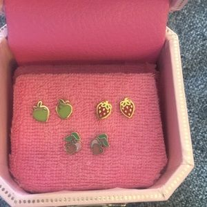 Unworn Juicy Couture earrings
